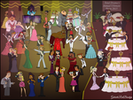Total Drama's Annual Ultimate Prom 2015! by Galactic-Red-Beauty