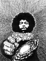 Cosmic Jimi by herrenmedia