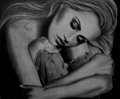 BRITTANY MURPHY by AngelasPortraits