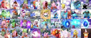 Super Smash Kirby BRAWL by metaslasher
