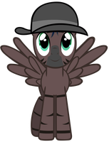 Request - Stormy (wearing a simply spiffing hat) by DrFatalChunk