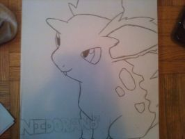 Nidoran Male by uchiha-fan-girl