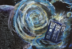 Tardis Wallpaper by goforth115