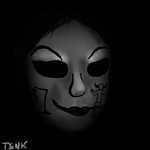 Agitha Tilda in the darkness by Thesupernintendokid