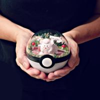 Poke Ball Terrarium - Clefairy - Medium by TheVintageRealm