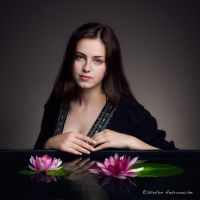Concealed - A portrait of Diana by StefanAndronache