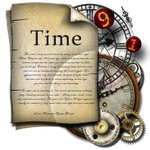 Steampunk Time Folder Icon by yereverluvinuncleber