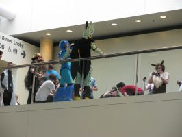 Cell, Megaman... - Otakon 2010 by jacmac