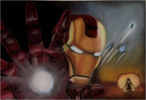 Iron Man by Kowardy