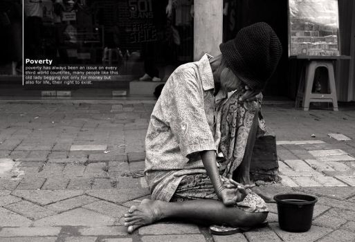 Poverty is Real by zacharya