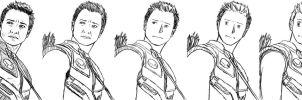 Step by Step: Hawkeye by JaphirTheGreenDragon