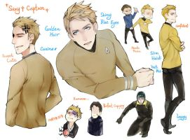 Impression of Captain Kirk by cielo0903
