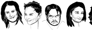Faces. by kuoke