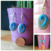 HearthStone Earrings by hatshu