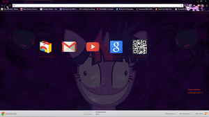 Twilight Halloween chrome theme by sakatagintoki117