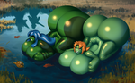 Frog Hunt by 0pik-0ort