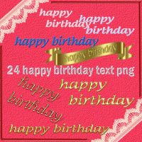 birthday text by roula33