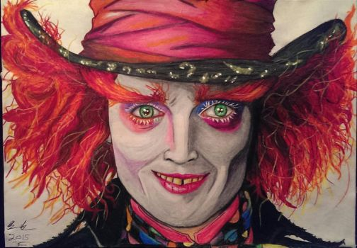 The Mad Hatter by joereynolds