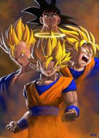 Saiyan Generations by Paganflow