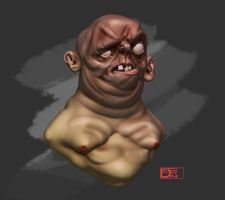 Double Chin by Dill-n