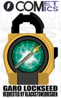 Request: Fan Lock - Garo Lockseed by CometComics