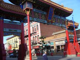 China town Victoria BC by narufma