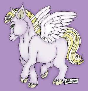 Pegasus for fyredelement