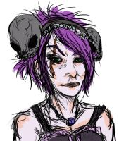 Goth Chick by aaawhyme