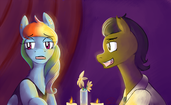 Commission: The Date by RyuRedwings
