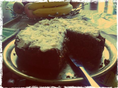 2nd try at a Carrot Cake01 by Keruki