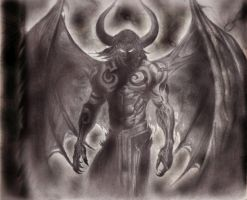 Illidan by Khaybrother86