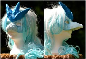 Articuno Mask by GoldenLionofRa