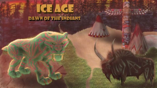 Ice Age - Dawn of the Indians by Ilufirion