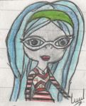 Monster High- Ghoulia Yelps by Luuandherdraws