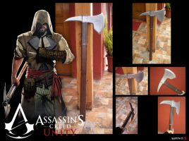 Assassins Creed Unity Axe by SP4RT4N-23