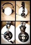 Steampunk Headphones by pwcca87