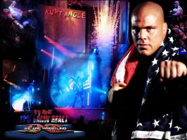 Kurt Angle Wallpaper by AISTYLES
