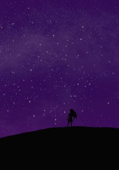 Loneliness of the stars by 9PinkCats