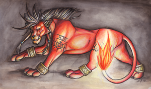 Red XIII by Rabastan