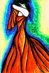 Feeling TANGO In A Silk Gown by JaM-FaiRY