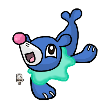 Popplio by BattleTeo