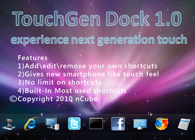 TouchGen Dock 1.0 by dncube