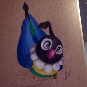 Chatot by GirlScoutDragon