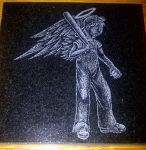 Angel Ball Boy Etch by ckatt01