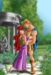 Hercules and Megara by Mareishon