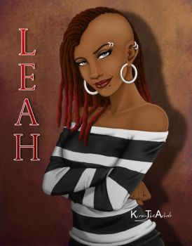 A Portrait of Leah by KiraTheArtist
