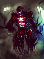 Dark Ironman Fanart by benedickbana