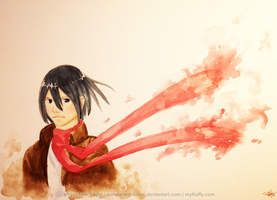 Mikasa by wondering-souls