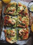 Shrimp Scampi Pizza by sasQuat-ch