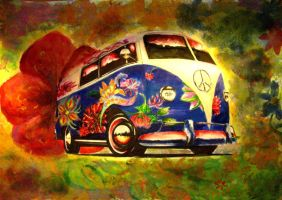 vw bus by dan996